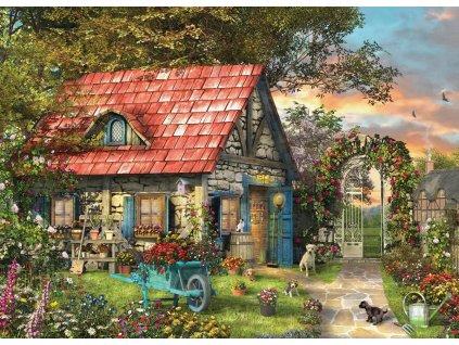 EUROGRAPHICS Puzzle Vesnická kůlna XL 500 dílků