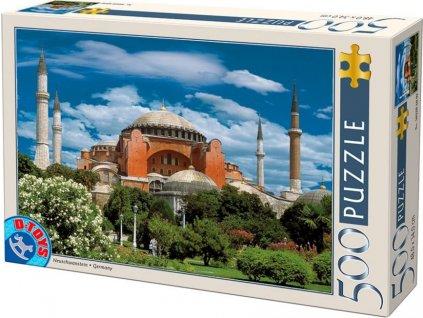D-TOYS Puzzle Hagia Sophia, Istanbul 500 dílků