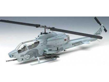 """Model Kit vrtulník 12116 - USMC AH-1W """"NTS UPDATE"""" (1:35)"""