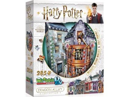 WREBBIT 3D puzzle Harry Potter: Kratochvílné a kouzelnické kejkle a Denní věštec 285 dílků
