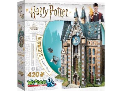 WREBBIT 3D puzzle Harry Potter: Bradavice, Hodinová věž 420 dílků