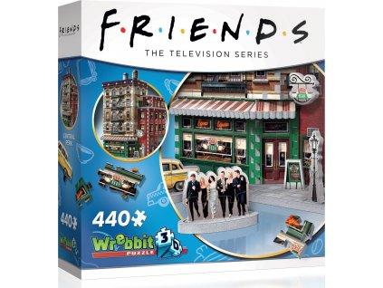 WREBBIT 3D puzzle Přátelé: Central Perk 440 dílků