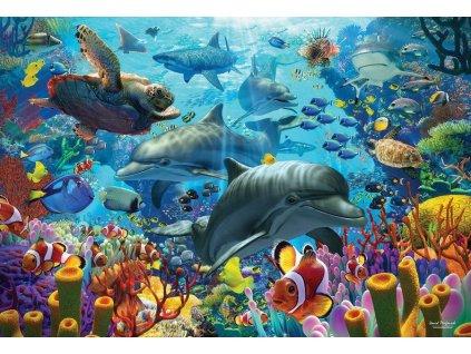 COBBLE HILL Puzzle Korálové moře 2000 dílků