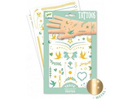 DJECO Tetování Šperky Lily