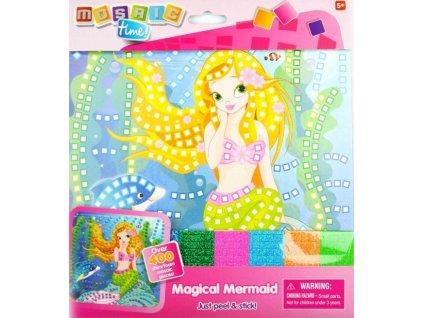 MOSAIC TIME Mozaikový obrázek: Mořská panna