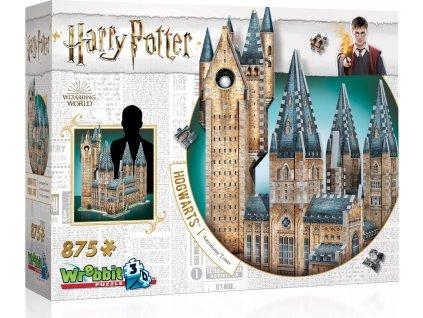 WREBBIT 3D puzzle Harry Potter: Bradavice, Astronomická věž 875 dílků