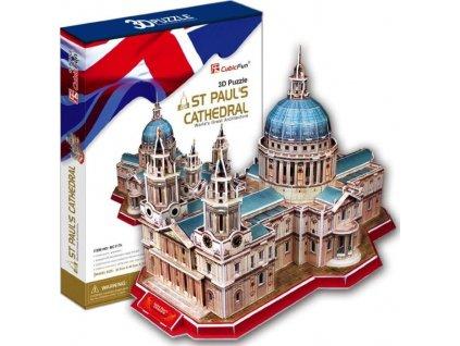 CUBICFUN 3D puzzle Katedrála svatého Pavla 107 dílků