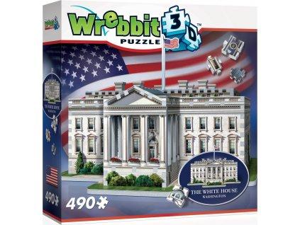WREBBIT 3D puzzle Bílý dům, Washington 490 dílků