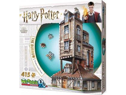 WREBBIT 3D puzzle Harry Potter: Doupě 415 dílků