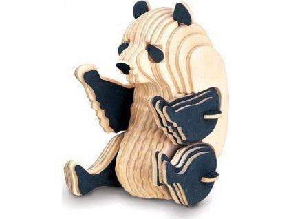 WOODEN TOY , WCK 3D puzzle Panda