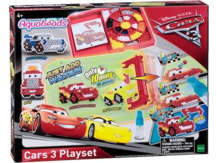AQUABEADS Hrací set Auta 3