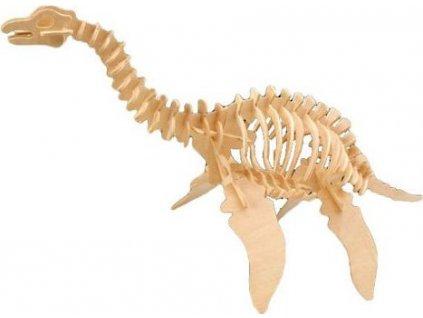 WOODEN TOY , WCK 3D puzzle Plesiosaurus