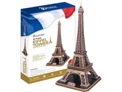 CUBICFUN 3D puzzle Eiffelova věž (velká) 84 dílků
