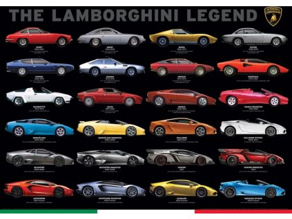 EUROGRAPHICS Puzzle Lamborghini Legend 1000 dílků