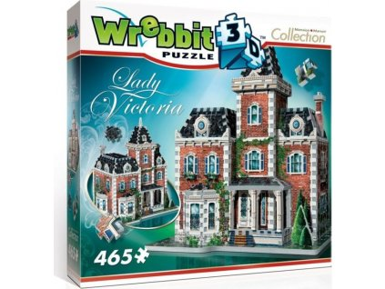 WREBBIT 3D puzzle Sídlo Lady Victoria 465 dílků