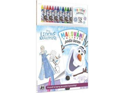 JIRI MODELS Malování podle barev Vánoce s Olafem
