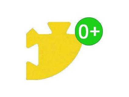 MALÝ GÉNIUS Rohový dílek silný 0+ (žlutý)