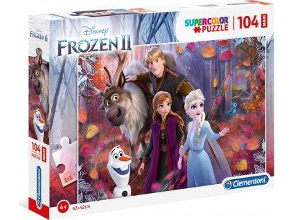 CLEMENTONI Puzzle Ledové království 2: Všichni spolu MAXI 104 dílků