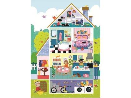 CLEMENTONI Puzzle Domov, sladký domov 60 dílků