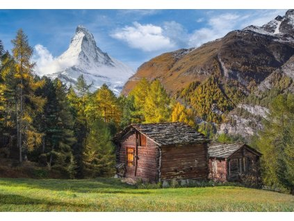 CLEMENTONI Puzzle Okouzlení Matterhornem 2000 dílků