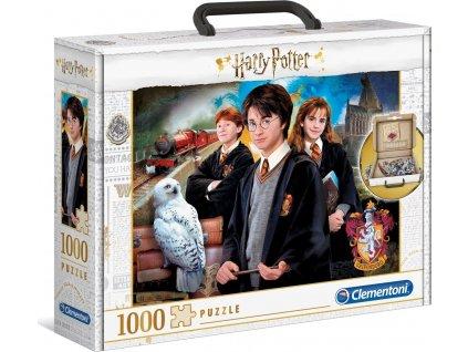 CLEMENTONI Puzzle v kufříku Harry Potter 1000 dílků