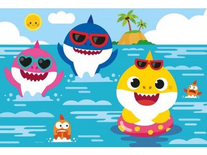 CLEMENTONI Puzzle Baby Shark: Plavání 30 dílků