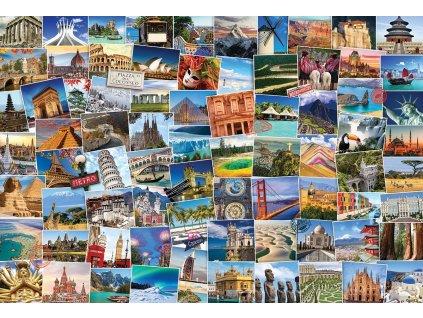 EUROGRAPHICS Puzzle Světoběžník 2000 dílků