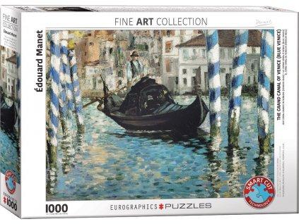 EUROGRAPHICS Puzzle Grand Canal v Benátkách 1000 dílků