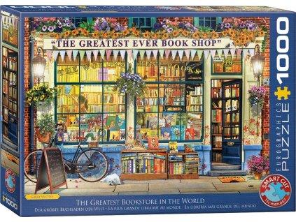 EUROGRAPHICS Puzzle Nejlepší knihkupectví na světě 1000 dílků
