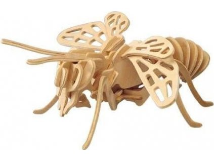 WOODEN TOY , WCK 3D puzzle Včela
