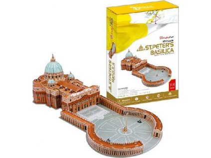 CUBICFUN 3D puzzle Bazilika svatého Petra 144 dílků