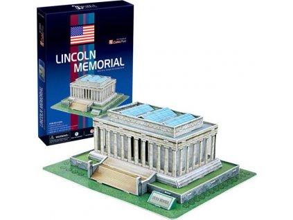CUBICFUN 3D puzzle Lincolnův památník 41 dílků