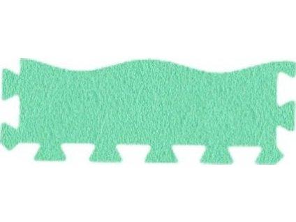 MALÝ GÉNIUS Okrajový dílek vlna 8mm (zelený)