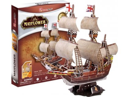 CUBICFUN 3D puzzle Mayflower 111 dílků