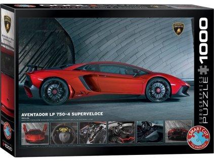 EUROGRAPHICS Puzzle Lamborghini Aventador LP 750-4, 1000 dílků
