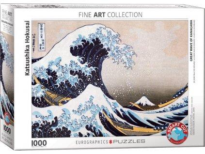 EUROGRAPHICS Puzzle Velká vlna Kanagawa 1000 dílků