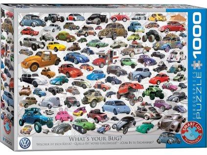 EUROGRAPHICS Puzzle Jaký je tvůj brouk? 1000 dílků