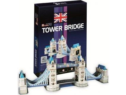 CUBICFUN 3D puzzle Tower Bridge 41 dílků