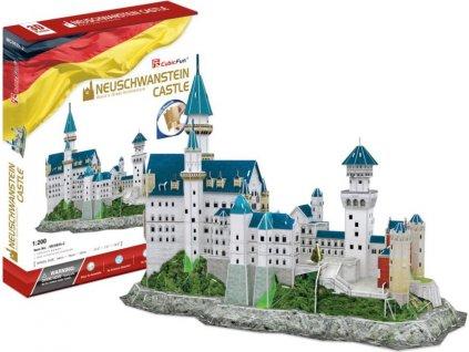 CUBICFUN 3D puzzle Zámek Neuschwanstein 121 dílků