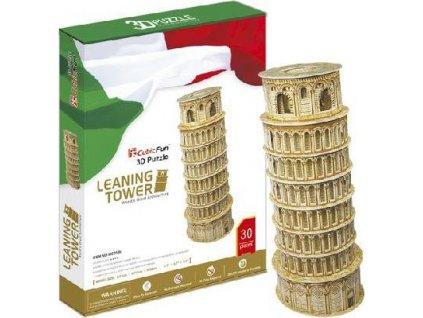 CUBICFUN 3D puzzle Šikmá věž v Pise 30 dílků