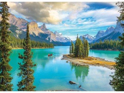 EUROGRAPHICS Puzzle Maligne Lake, Alberta 1000 dílků