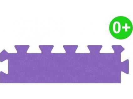 MALÝ GÉNIUS Okrajový dílek silný 0+ (fialový)