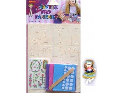 ARTLOVER 3D puzzle Nábytek: Dětský pokoj s obtisky a panenkou