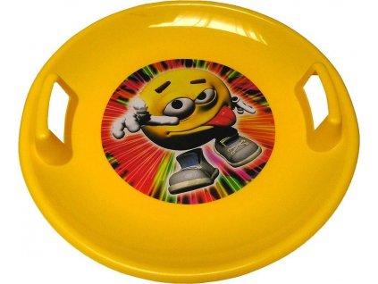 Sněžný talíř BAYO 60 cm žlutý