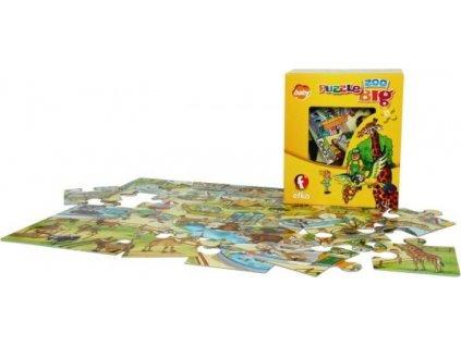 EFKO Oboustranné puzzle Zoologická zahrada 24 dílků