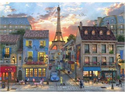 BLUEBIRD Puzzle Pařížské ulice 1000 dílků