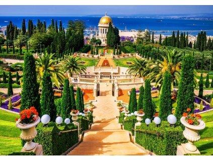 BLUEBIRD Puzzle Zahrada Bahá'í 1000 dílků
