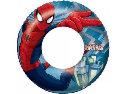 BESTWAY Nafukovací kruh Spiderman 56 cm