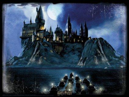 PRIME 3D Puzzle Harry Potter: Příjezd do Bradavic 3D 1000 dílků