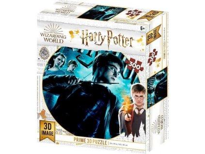 PRIME 3D Puzzle Harry Potter: Nebelvír 3D XL 300 dílků